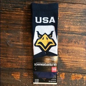 Under Armour USA socks large new